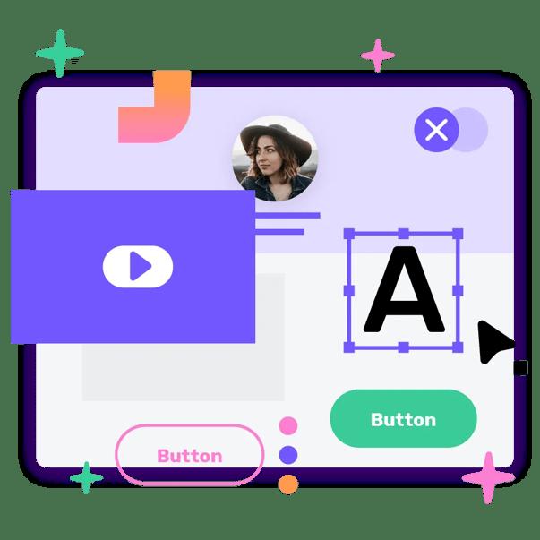 Giosg Chatbot Builder Graphic Representation