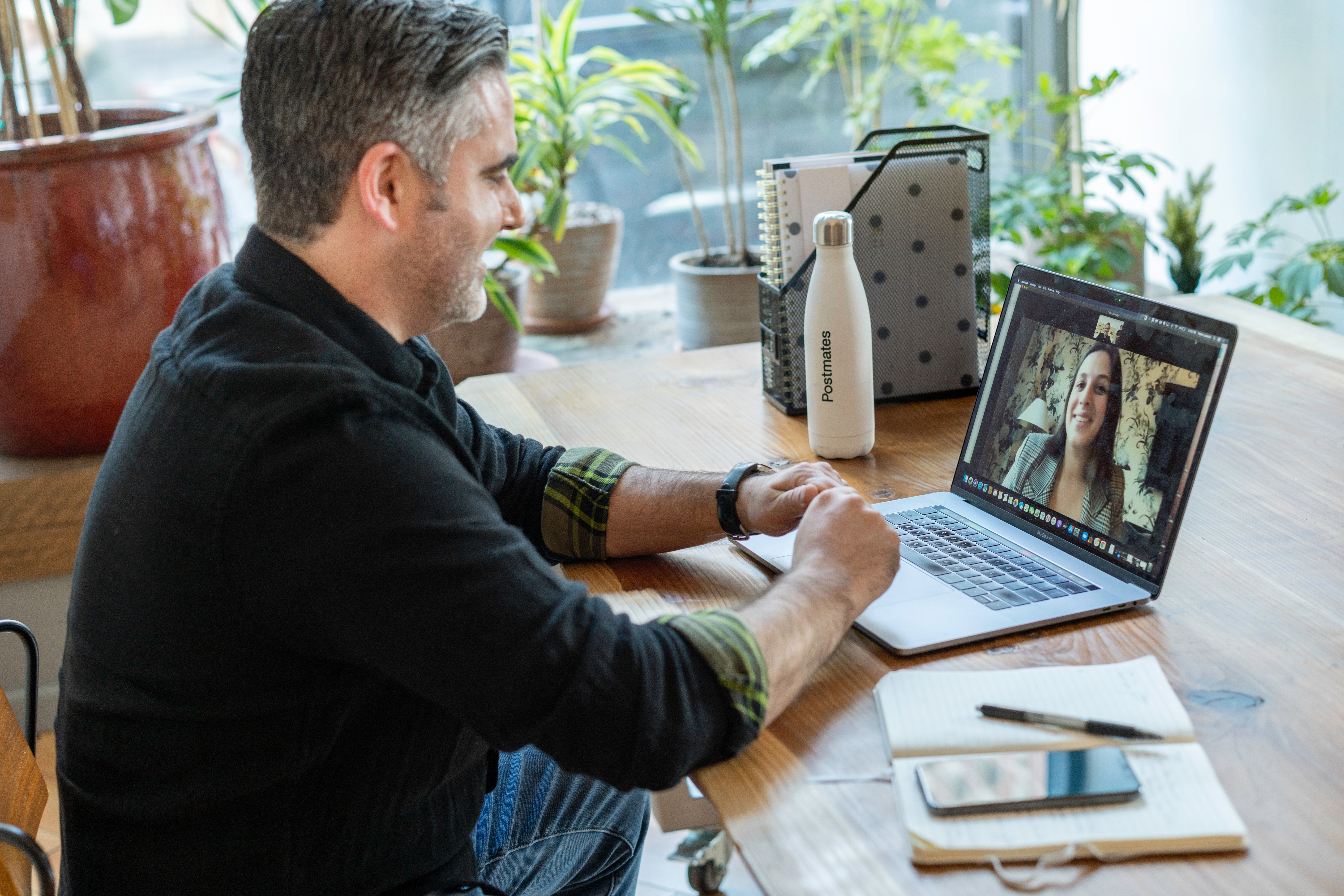 Live chat video call integration