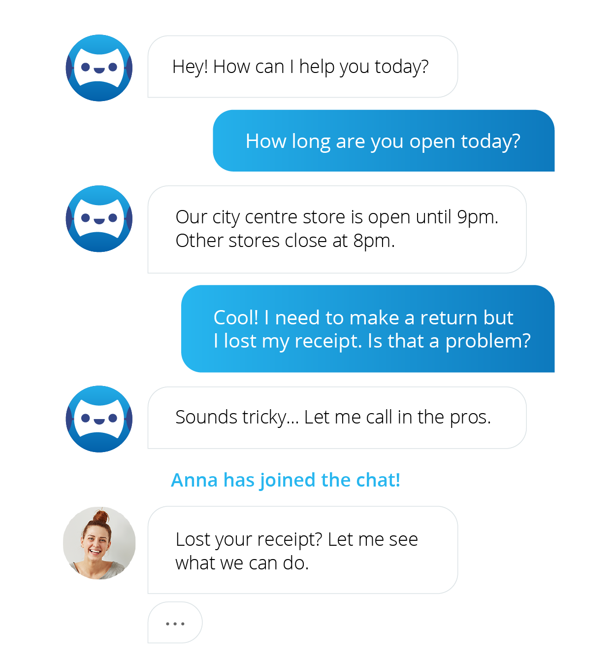 giosg chatbot first line of service.png