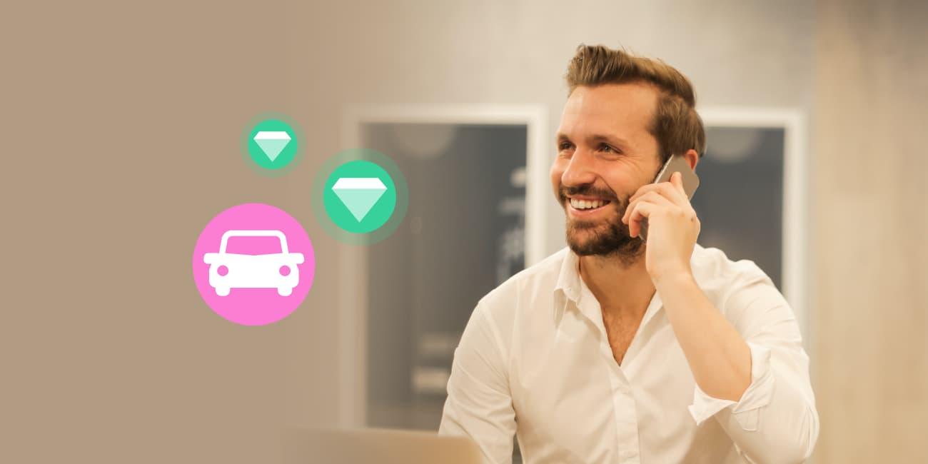 car salesman leads