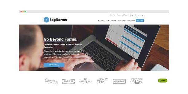 Logiforms Hero Image