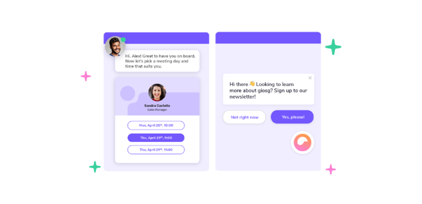 Chatbot for booking appointments