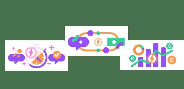 Increasing conversion rate in diagrams
