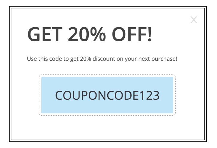 discount buy same code coupon a
