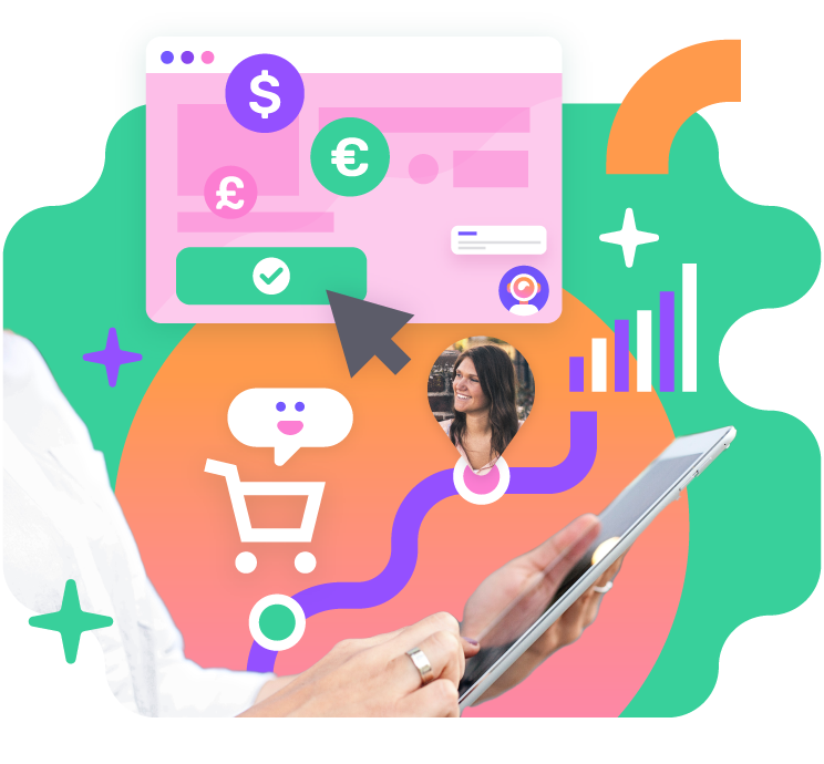 Sell more with giosg BASKET feature
