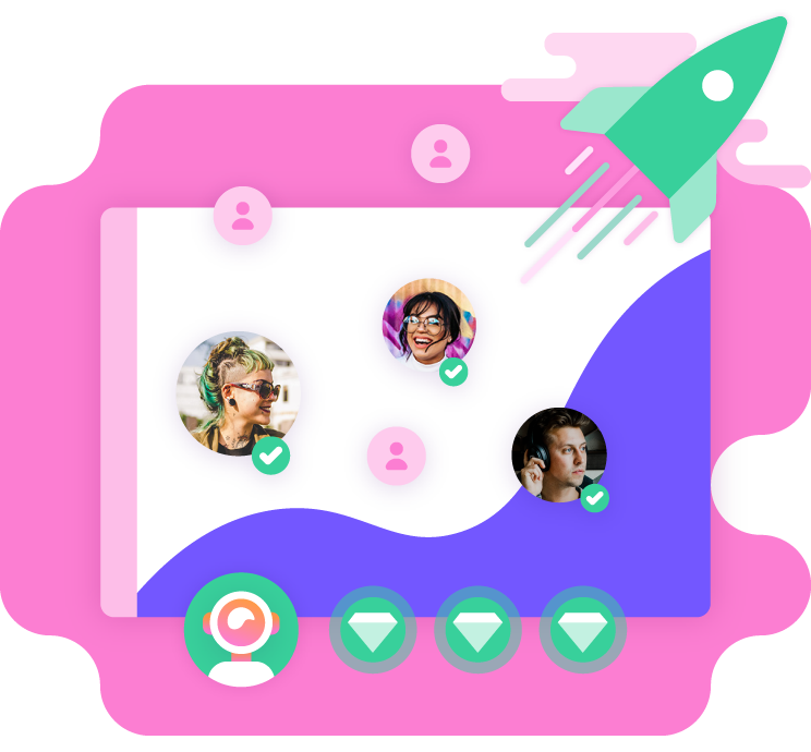 Capture 3x more leads with giosg Interaction Designer