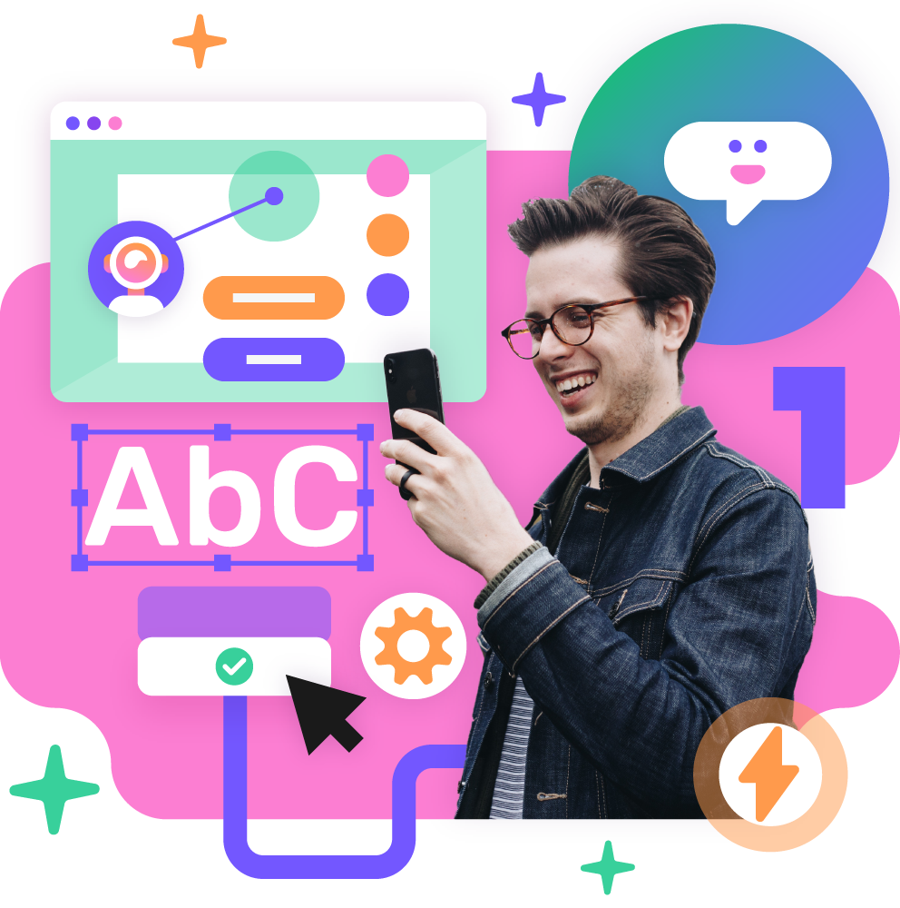 Luo kustomoituja chatbotteja ja interaktiivista sisältöä
