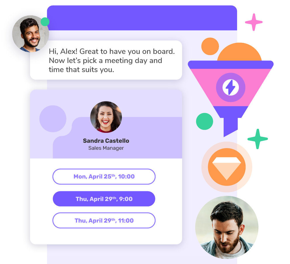 Increase sales and connect with potential customers with Giosg Live Chat