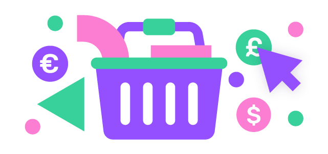 Tack your website visitor shopping basket with giosg