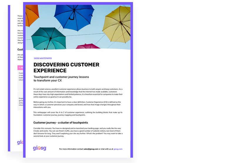 Guide: How to improve your customer experience